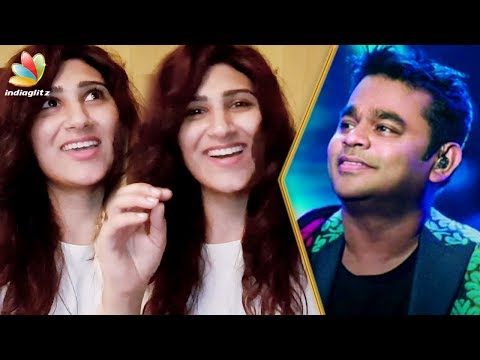 AR Rahman Made National Award More Special : Shashaa Tirupati Interview |Vaan Varuvaan Song