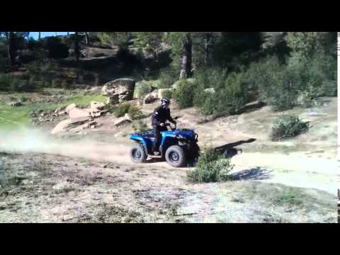 CFMOTO CFORCE450S TEST QUADANDJET  2015 AVILA SPAIN