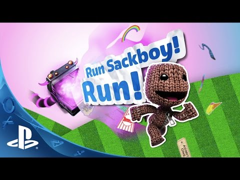 Run Sackboy! Run! –  Launch Trailer | PS Vita