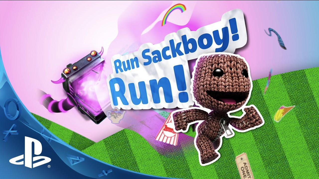 Run Sackboy! Run! - Launch Trailer | PS Vita - YouTube