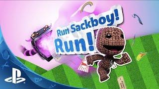 Run Sackboy! Run! -  Launch Trailer | PS Vita