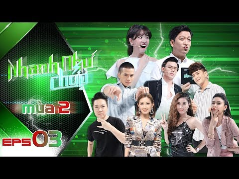 Nhanh Như Chớp Mùa 2 | Tập 03 Full HD: Trư�ng Giang-Hari Won Vỡ Oà Khi Khaly Giành 20 Triệu �ầu TIên