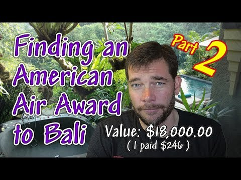 Travel Hack 010 - Find & Book an American Award Flight (PART TWO)