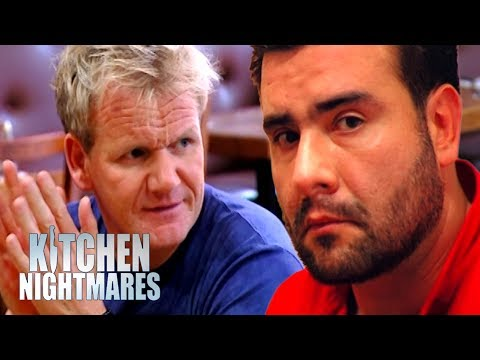 Huge Argument In The Kitchen Puts Gordon Off His Food   Kitchen Nightmares