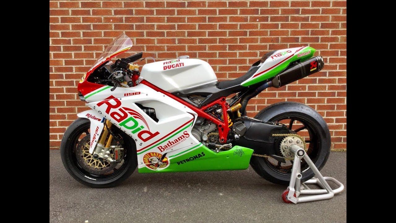 Ducati 1198s Racing Sport Bike: Ducati 1098RS Race Bike FOR SALE
