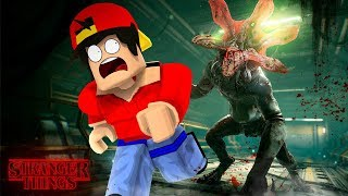 ROBLOX - THE STRANGERS THINGS MONSTER IST AUF DEM LOSE!!!