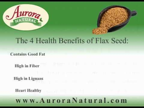 The Health Benefits of Roasted Flax Seed - YouTube