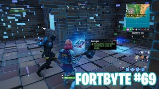Fortnite Battle Royale ? Fortbyte Challenges How to get the Fortbyte #69