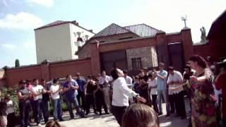 Чеченский танец на свадьбе