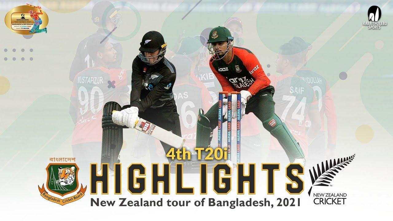 Download Bangladesh vs New Zealand Highlights    4th T20i    New Zealand Tour of Bangladesh 2021