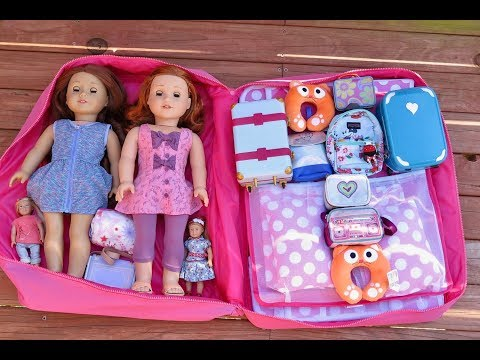 How To Travel With Your American Girl Doll  ~ Two Night Cruise Stay!