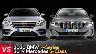 2020 BMW 7 Series Vs 2019 Mercedes S Class ► Who Is The King?