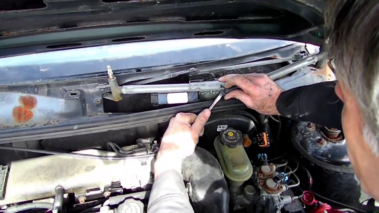 Windshield Wiper Motor Removal Youtube