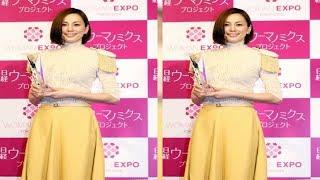 女優の米倉涼子(43)が、アサヒビールの「2019年アサヒワインアンバサダ...