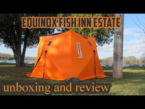 REVIEW OF THE EQUINOX FISH INN ESTATE 5 Man Insulated Pop Up