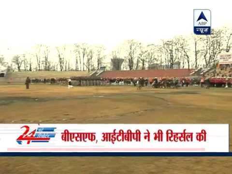 Full dress rehearsal of Republic day parade completed in Srinagar