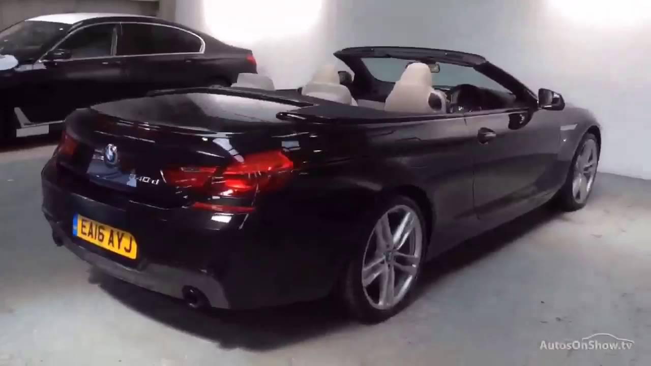 BMW 6 SERIES 640D M SPORT BLACK 2016