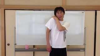 野球・バレー・ソフト肩甲骨周辺の筋肉をグラングランにやわらかくする方法 thumbnail