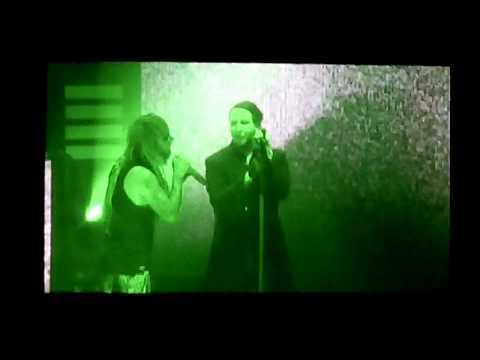 "Marilyn Manson & Rob Zombie ""Helter Skelter"" LIVE DEBUT Clarkston, MI 7/11/18"