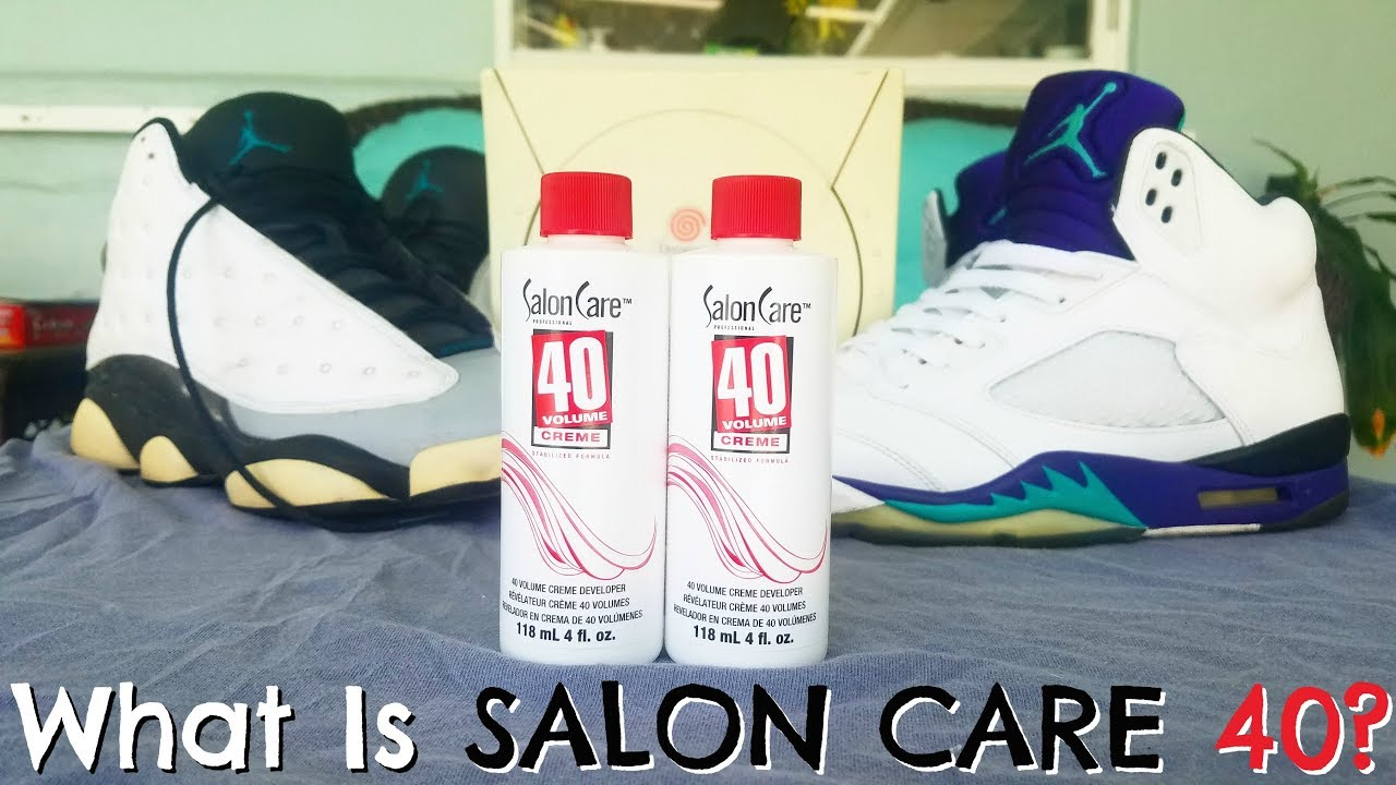 932432c75ab30 How To Remove Yellowing From Sneakers & Video Games - Salon Care 40 ...