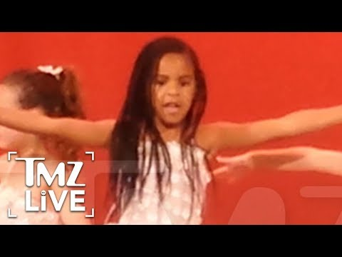 Blue Ivy Steals The Show | TMZ Live