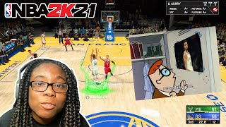 I SOLD AND RUINED STEPH CURRY'S PERFECT GAME! NBA 2K21 PLAYNOW ONLINE!