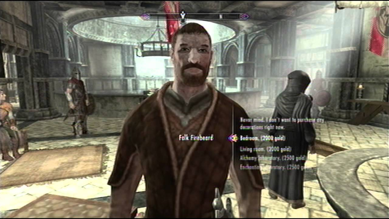 Skyrim how to get a free house and furniture in solitude for Find a house online