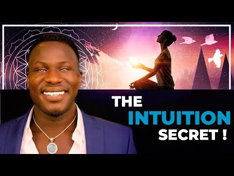 The Intuition Secret! WATCH THIS! How to Recognize Your Intuition!