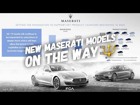 Heres All Of The New Maseratis Coming From Now Until 2023!