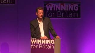 Nathan Gill MEP, Leader of UKIP Wales, in Bournemouth