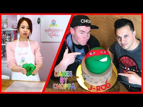 Stacked Ninja Turtle Cake (How To) Feat: Storytalecakes