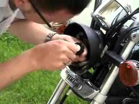 Mantenimiento De Moto Parte 6 Cambio De Luces Delanteras