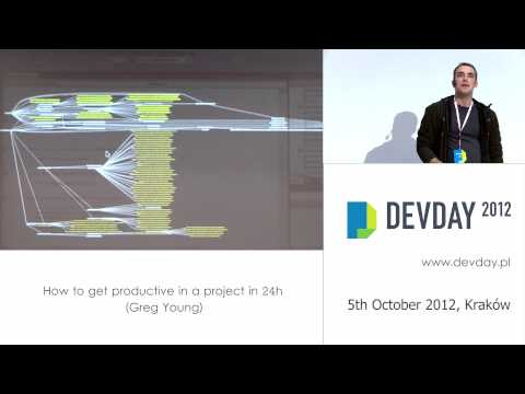 "Greg Young - ""How to get productive in a project in 24h"""