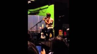 Ryan Beatty Arizona Girls sound check 11/16