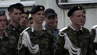 Открытие военно-полевых сборов.