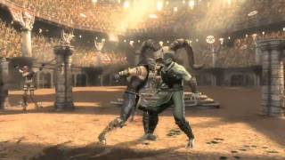 Mortal Kombat Exclusive Scorpion Trailer - MK9 Scorpion combo exhibition in HD!