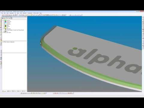 Alphacam 2014 R1 - Cut Spline or Polyline
