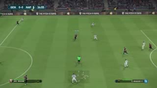Genoa vs Napoli 21 Sept 2017 Serie A Live Broadcast (Part 1of 2) PES17