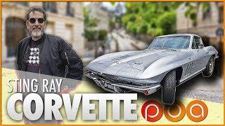 🚗 CORVETTE STING RAY 66 : 🇺🇸American dream in Paris