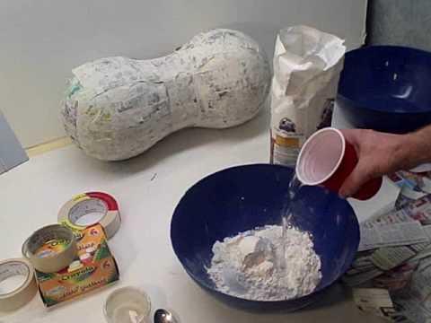 Fast Easy Paper Mache Recipe