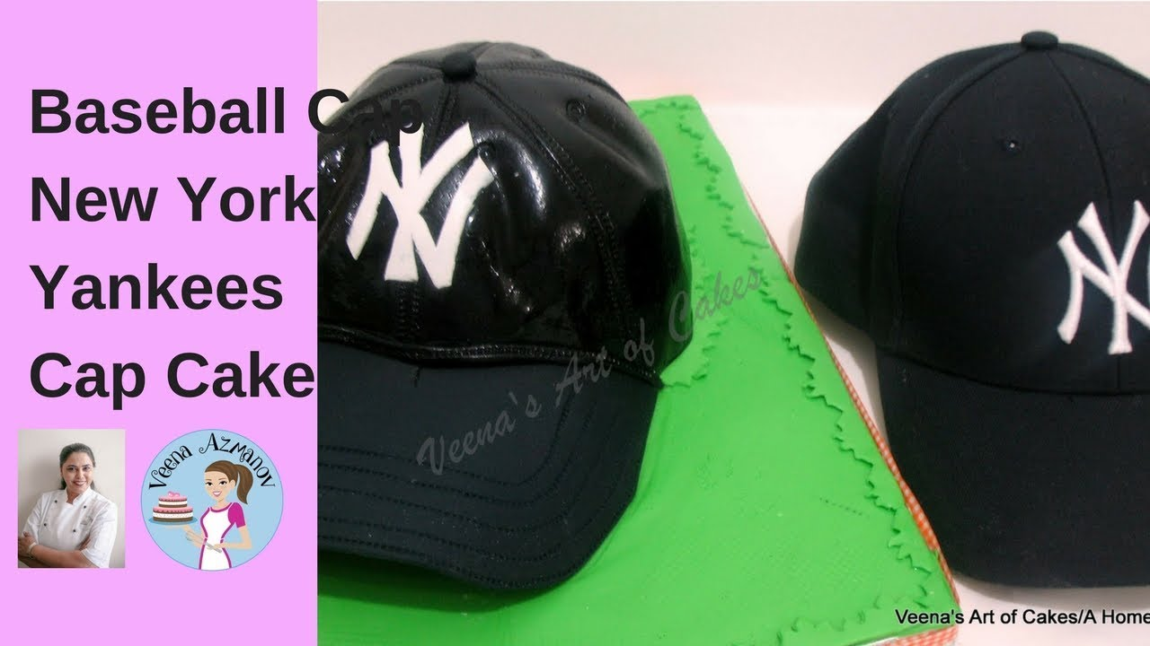 593ccfc2aa7 How to make a Baseball Cap Cake
