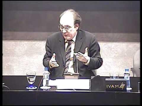 Francisco Calvo Serraller. Conferencia Magistral: A dónde va la crítica.