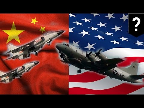 China vs US: Chinese fighter jets unsafely intercept U.S. plane in South China Sea - TomoNews