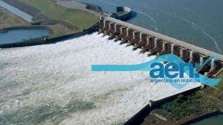 Avanzan las obras de las represas Néstor Kirchner y Jorge Cepernic . AEN TV 27-8 11HS