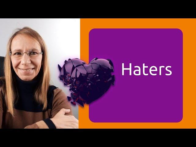 #Haters. Casi seguro que son narcisistas