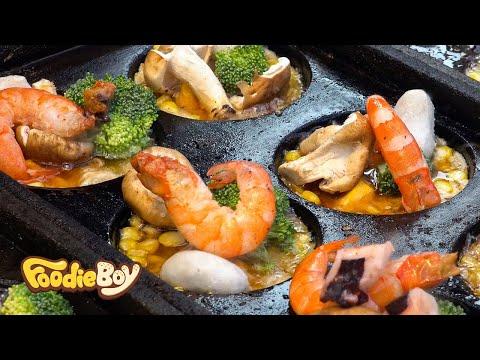 가오슝 루이펑 야시장 / 대왕 타코야끼(King Takoyaki) / Taiwanese Street Food / Kaohsiung Taiwan
