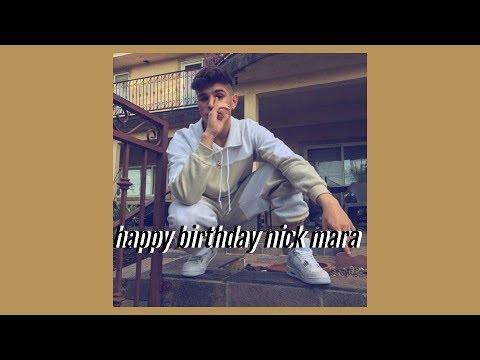 Happy Birthday Nicholas Carter Mara