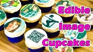 Edible Image Cupcake Toppers (For my Mom's Birthday) by Cookies Cupcakes and Cardio