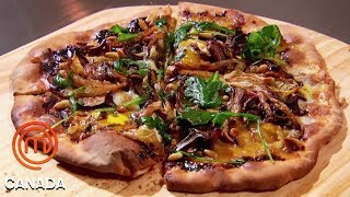 Download Mystery Box Reveals An Artisan Pizza Challenge | MasterChef Canada | MasterChef World Mp3 and Videos