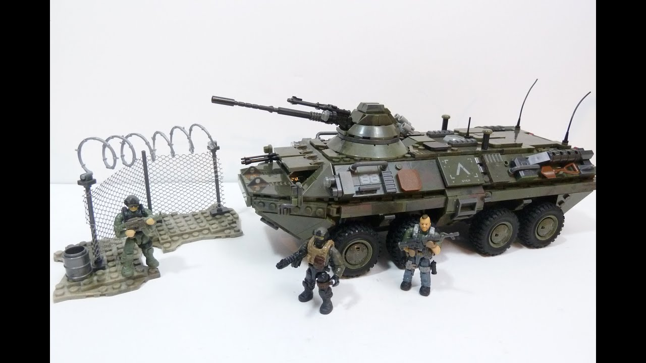 Mega Bloks Call Of Duty Combat Vehicle Attack Review Youtube